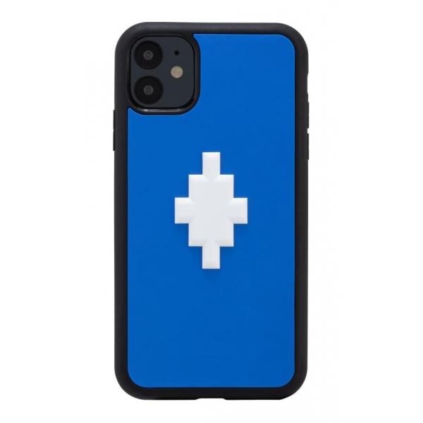 Marcelo Burlon - 3D Cross Blue Cover - iPhone 11 - Apple - County of Milan - Printed Case