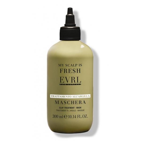 Everline - Hair Solution - Trattamento all'Argilla - Maschera - Trattamenti Professionali - 300 ml