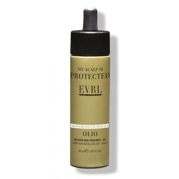 Everline - Hair Solution - Trattamento Cute Delicata - Olio - Trattamenti Professionali - 50 ml