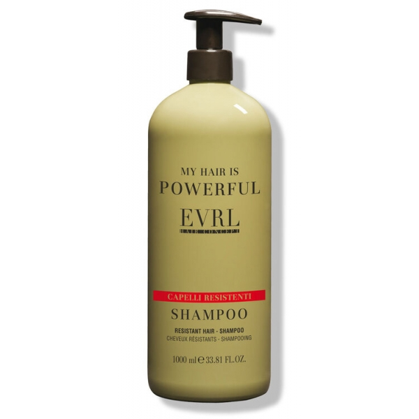 Everline - Hair Solution - Capelli Resistenti - Shampoo - Trattamenti Professionali - 1000 ml