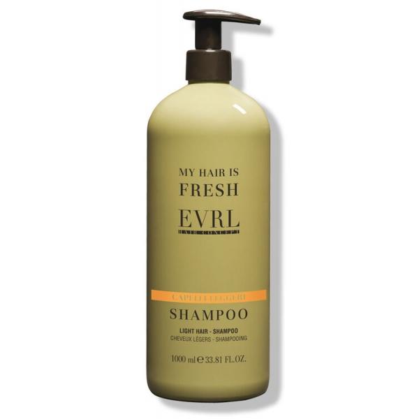 Everline - Hair Solution - Capelli Leggeri - Shampoo - Trattamenti Professionali - 1000 ml