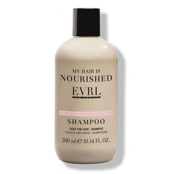 Everline - Hair Solution - Capelli Sottili Leggeri - Shampoo - Trattamenti Professionali - 300 ml