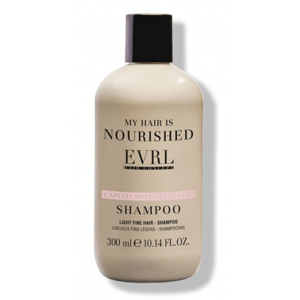 Everline - Hair Solution - Light Fine Hair - Shampoo - Professional Treatments - 300 ml