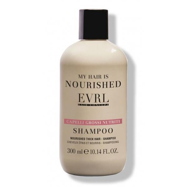 Everline - Hair Solution - Capelli Grossi Nutriti - Shampoo - Trattamenti Professionali - 300 ml
