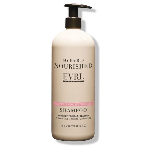 Everline - Hair Solution - Nourished Thick Hair - Shampoo - Professional Treatments - 1000 ml