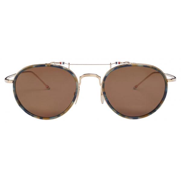 Thom Browne - Tortoise Pantos Sunglasses - Thom Browne Eyewear