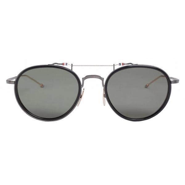 Thom Browne - Black Pantos Sunglasses - Thom Browne Eyewear