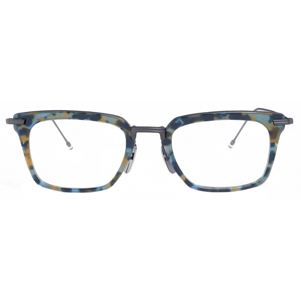 Thom Browne - Occhiali da Sole Wayfarer Tartaruga Blu Scuro - Thom Browne Eyewear