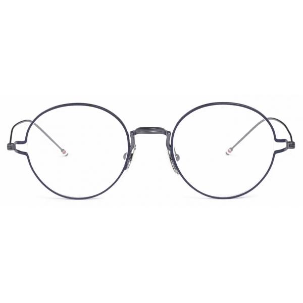 Thom Browne - Black Iron Round Eye Glasses - Thom Browne Eyewear