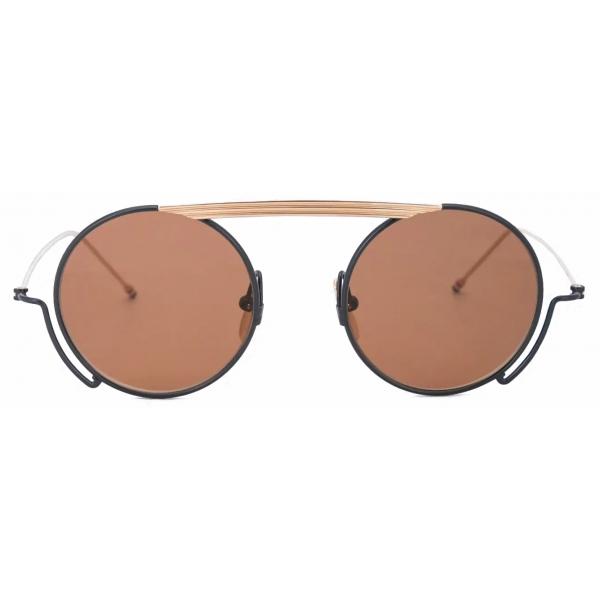 Thom Browne - Occhiali da Sole Rotondi Cooper - Thom Browne Eyewear