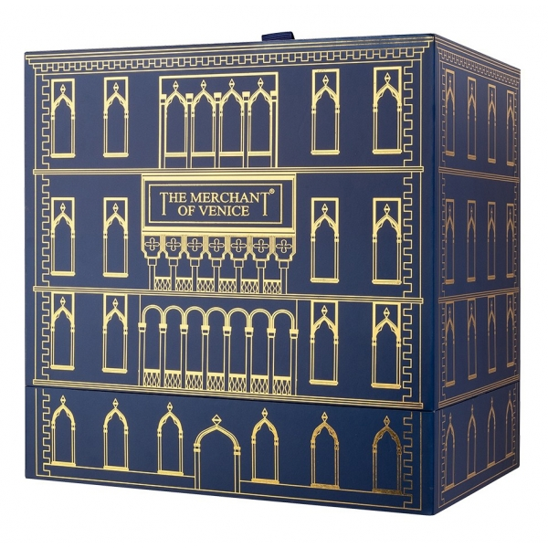 The Merchant of Venice - Venetian Blue Intense - Gift Box - Nobil Homo - Luxury Venetian Fragrance - 100 ml