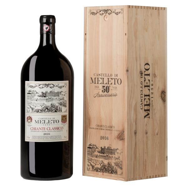Castello di Meleto - Meleto Chianti Classico D.O.C.G. - Imperial - Edizione Speciale 50° Anniversario - Vini Rossi