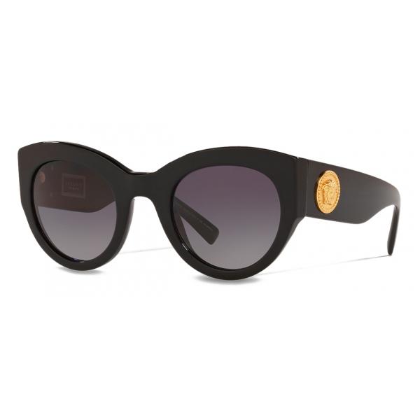 Versace - Occhiale da Sole Tribute - Nero - Occhiali da Sole - Versace Eyewear