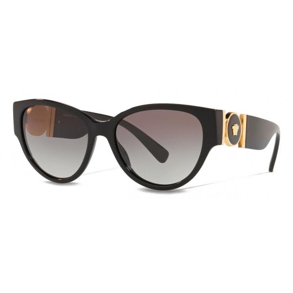 Versace - Occhiale da Sole Cat-Eye Medusa Medallion - Nero - Occhiali da Sole - Versace Eyewear