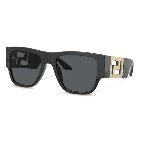 Versace - Occhiale da Sole Greca - Nero - Occhiali da Sole - Versace Eyewear