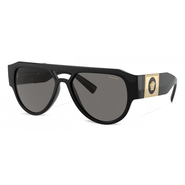 Versace - Occhiale da Sole Medusa Stud - Nero - Occhiali da Sole - Versace Eyewear