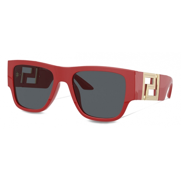 Versace - Occhiale da Sole Greca - Rosso - Occhiali da Sole - Versace Eyewear