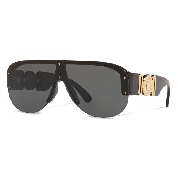 Versace - Occhiale da Sole Medusa Biggie Pilot - Nero - Occhiali da Sole - Versace Eyewear