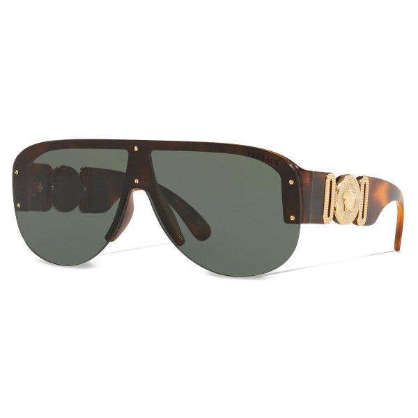Versace - Occhiale da Sole Medusa Biggie Pilot - Havana - Occhiali da Sole - Versace Eyewear