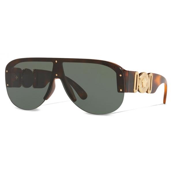Versace - Sunglasses Medusa Biggie Pilot - Havana - Sunglasses - Versace Eyewear