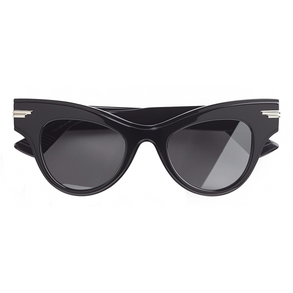 Bottega Veneta - Cat-Eye Sunglasses - Black - Sunglasses - Bottega Veneta Eyewear