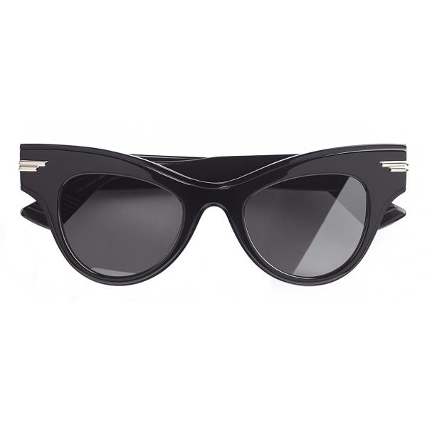 Bottega Veneta - Occhiali da Sole Cat-Eye - Nero - Occhiali da Sole - Bottega Veneta Eyewear