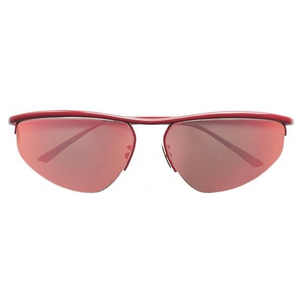 Bottega Veneta - Oval Panthos Sunglasses - Pink - Sunglasses - Bottega Veneta Eyewear