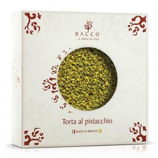 Bacco - Tipicità al Pistacchio - Pistachio Sicilian Cake - Artisan Cake - 500 g