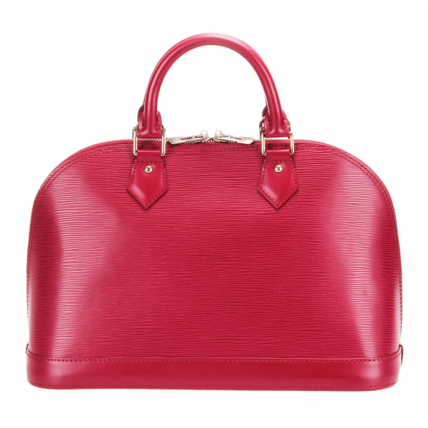 Louis Vuitton Vintage - Epi Alma PM Bag - Rosa - Borsa in Pelle Epi e Pelle - Alta Qualità Luxury
