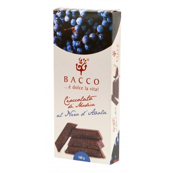 Bacco - Tipicità al Pistacchio - Chocolate of Modica - Nero d'Avola - Artisan Chocolate - 100 g
