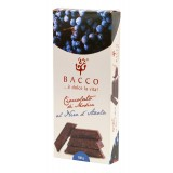 Bacco - Tipicità al Pistacchio - Cioccolato di Modica al Nero d'Avola - Cioccolato Artigianale - 100 g