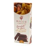 Bacco - Tipicità al Pistacchio - Cioccolato di Modica alla Nocciola e Mandorla - Cioccolato Artigianale - 100 g