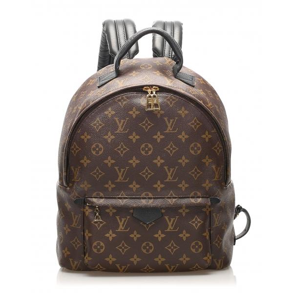 Louis Vuitton Vintage - Monogram Palm Springs MM Backpack - Marrone - Zaino in Tela e Pelle - Alta Qualità Luxury