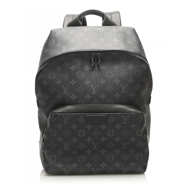 Louis Vuitton Vintage - Monogram Eclipse Apollo Backpack - Black - Canvas and Leather Backpack - Luxury High Quality