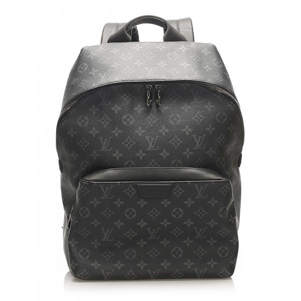 Louis Vuitton Vintage - Monogram Eclipse Apollo Backpack - Nero - Zaino in Tela e Pelle - Alta Qualità Luxury