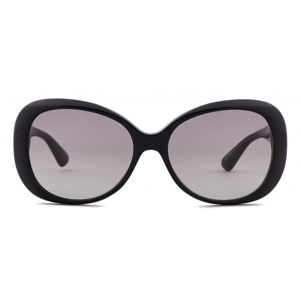 Giorgio Armani - Occhiali da Sole Donna Forma Oversize - Grigio - Occhiali da Sole - Giorgio Armani Eyewear