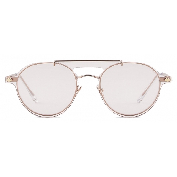 Giorgio Armani - Eyeglasses with Sunglasses Clip-On - Rose Gold - Sunglasses - Giorgio Armani Eyewear