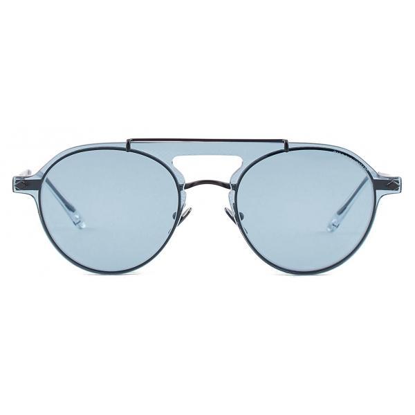 Giorgio Armani - Occhiali da Vista Modello Clip-On Forma Pilot - Nero - Occhiali da Sole - Giorgio Armani Eyewear