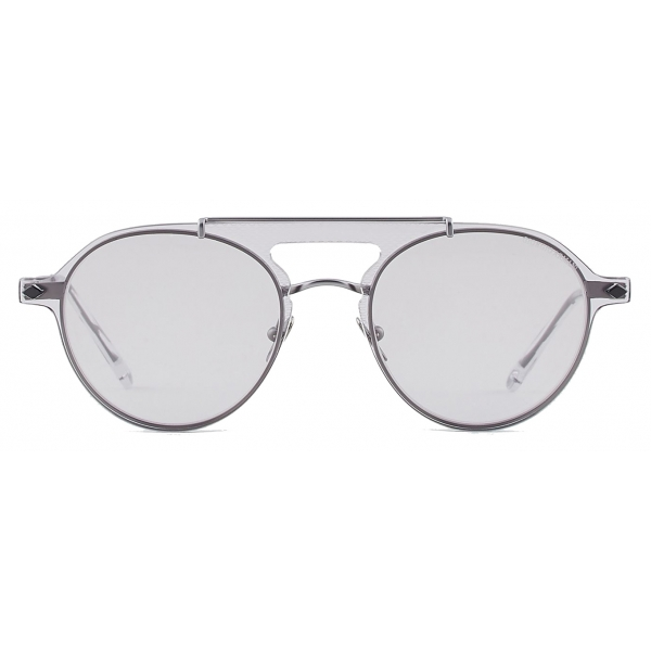 Giorgio Armani - Eyeglasses with Sunglasses Clip-On - Gray - Sunglasses - Giorgio Armani Eyewear