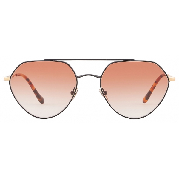 Giorgio Armani - Irregular Shape Sunglasses - Rose Gold - Sunglasses - Giorgio Armani Eyewear