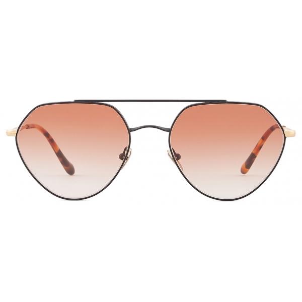 Giorgio Armani - Occhiali da Sole Forma Irregolare - Oro Rosa - Occhiali da Sole - Giorgio Armani Eyewear