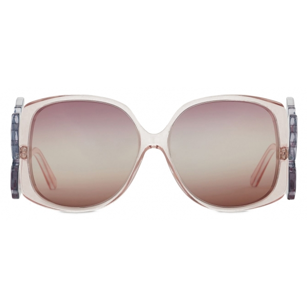 Giorgio Armani - Oversize Woman Sunglasses - Pink - Sunglasses - Giorgio Armani Eyewear