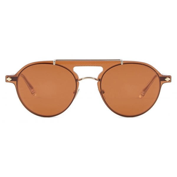 Giorgio Armani - Eyeglasses with Sunglasses Clip-On - Gold - Sunglasses - Giorgio Armani Eyewear