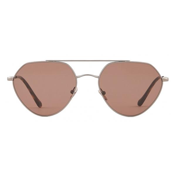 Giorgio Armani - Occhiali da Sole Forma Irregolare - Marrone - Occhiali da Sole - Giorgio Armani Eyewear