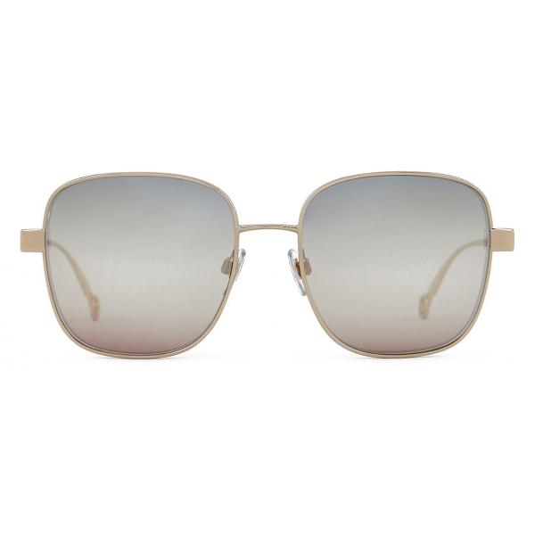 Giorgio Armani - Occhiali da Sole Donna Oversize con Lenti Trigradient - Oro - Occhiali da Sole - Giorgio Armani Eyewear