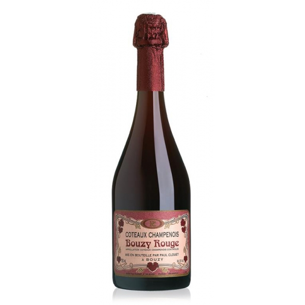 Champagne Paul Clouet - Bouzy Rouge - Pinot Noir - Vino Rosso - Luxury Limited Edition - 750 ml