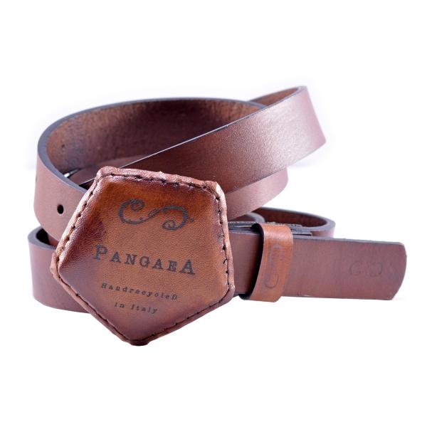 PangaeA - Cintura PangaeA - Marrone - Accessori PangaeA - Cintura Artigianale in Pelle