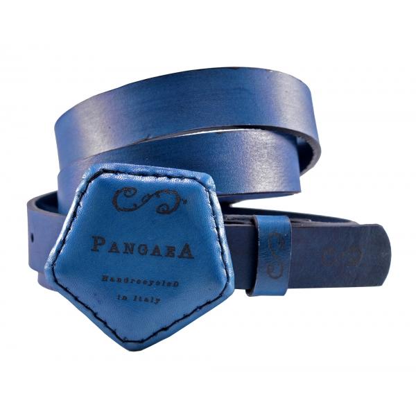 PangaeA - Cintura PangaeA - Blu - Accessori PangaeA - Cintura Artigianale in Pelle
