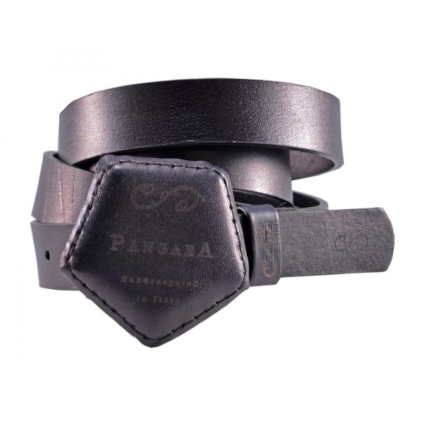 PangaeA - Cintura PangaeA - Nera - Accessori PangaeA - Cintura Artigianale in Pelle