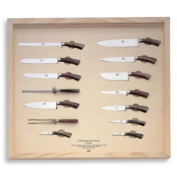 Coltellerie Berti - 1895 - The Complete Wall Carving Machine - N. 329 - Exclusive Artisan Knives - Handmade in Italy